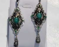 vintage earrings author